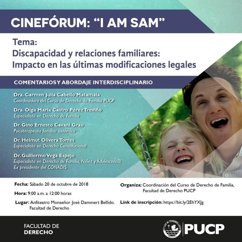 Cine Forum I´m Sam